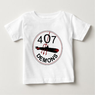 RCAF Patch 407 Squadron Royal Canadian Air Force D Baby T-Shirt