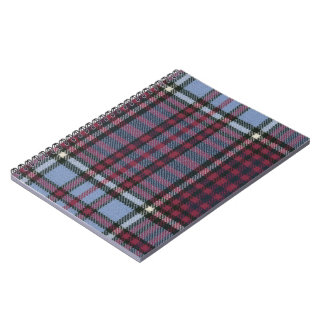RCAF Tartan Spiral Bound Notebook