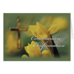 RCIA Communion and Confirmation Congratulations Greeting Card