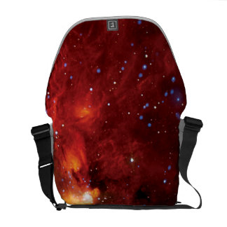 RCW 108 Star Forming Region - Hubble Space Photo Messenger Bag