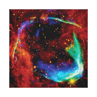 RCW 86 Supernova Remnant - NASA Hubble Space Photo Canvas Print