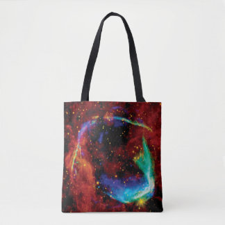 RCW 86 Supernova Remnant - NASA Hubble Space Photo Tote Bag