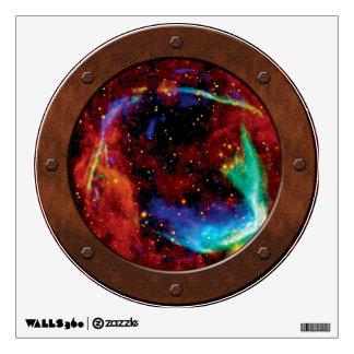 RCW 86 Supernova Steampunk Porthole Wall Sticker