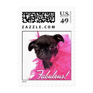 RD Black Pug Fabulous! Postage