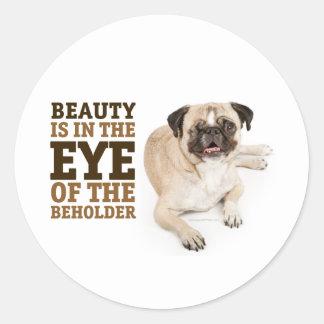 RD Pug Beauty Sticker