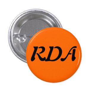 RDA Forum Pinback Button