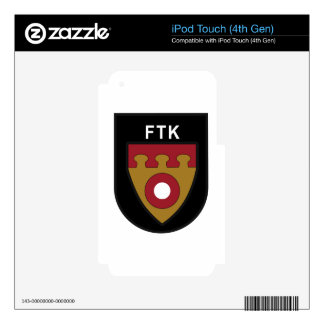 RDAF Patch Royal Danish Air Force Tactical Air Com iPod Touch 4G Skin
