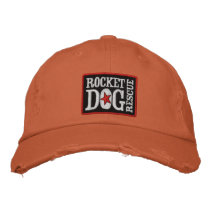 RDR Logo (red, blk, wht) Embroidered Baseball Hat