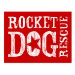 RDR Logo (wht/blank star) Postcard