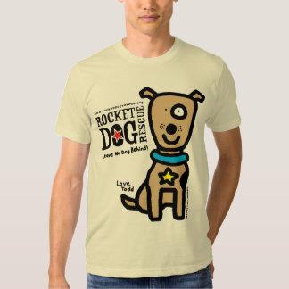 RDR - Parr de Todd (perro Brown de Lrg) Playera
