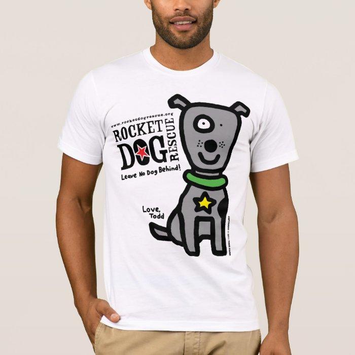 RDR - Todd Parr (Lrg Dog Gray) T-Shirt