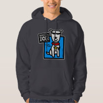 RDR - Todd Parr (white dog) Hoodie