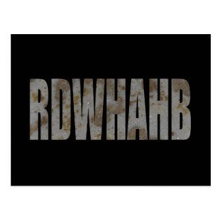 RDWHAHB POSTCARD