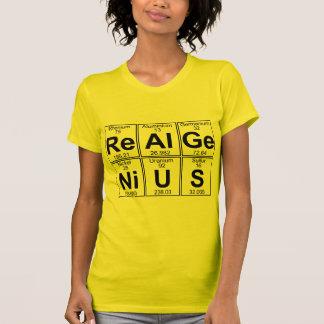 Re-Al-GE-Ni-U-s (genio real) - por completo Camisas