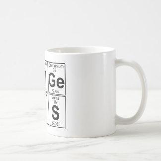 Re-Al-Ge-Ni-U-S (real genius) - Full Classic White Coffee Mug