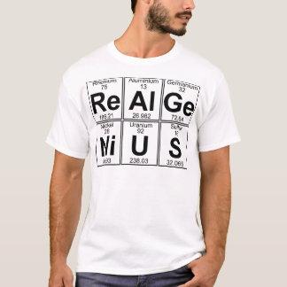 Re-Al-Ge-Ni-U-S (real genius) - Full T-Shirt