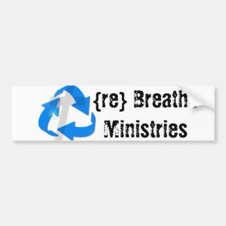{re} Breathe Ministries Bumper Stickers