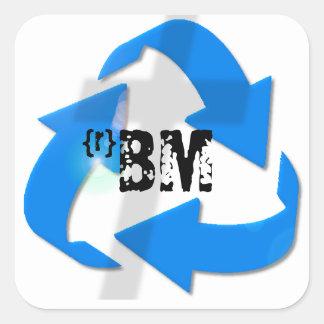 {re} Breathe Ministries Square Sticker