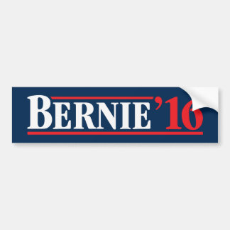 Re/Bu Bernie '16 Bumper Sticker