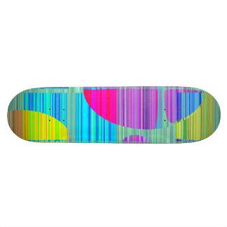 Re-Created Building Blocks Skateboard Deck