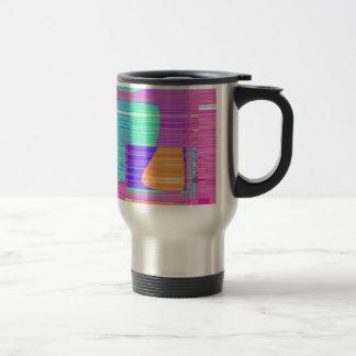 Re-Created Building Blocks Travel Mug