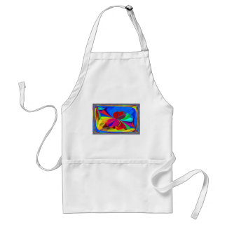 Re-Created Butterflies Apron