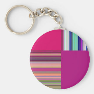 Re-Created + by Robert S. Lee Basic Round Button Keychain