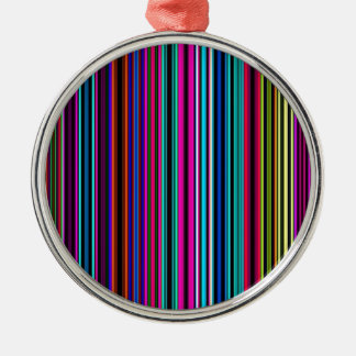 Re-Created Channels Round Metal Christmas Ornament