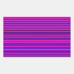 Re-Created Channels Rectangular Sticker