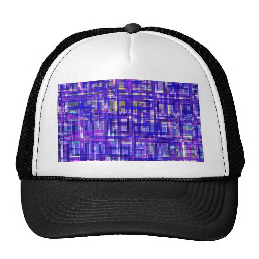 Re-Created Checks Hats