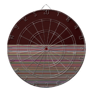 Re-Created Color Field & Stripes by Robert S. Lee Dartboard