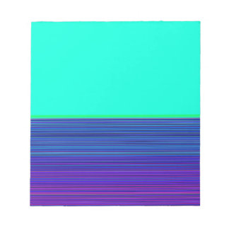Re-Created Color Field & Stripes by Robert S. Lee Notepad