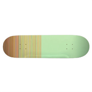 Re-Created Color Field & Stripes by Robert S. Lee Skateboard Deck