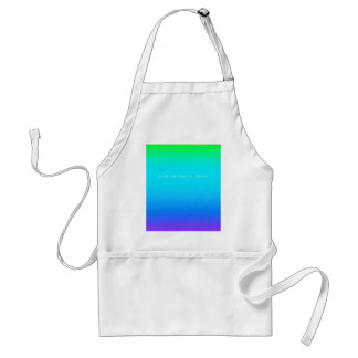 Re-Created Color Field with LOVE by Robert S. Lee Adult Apron