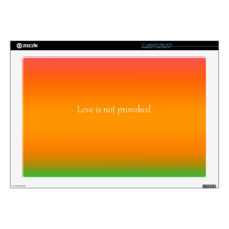 Re-Created Color Field with LOVE by Robert S. Lee Laptop Decals