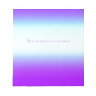 Re-Created Color Field with LOVE by Robert S. Lee Notepad