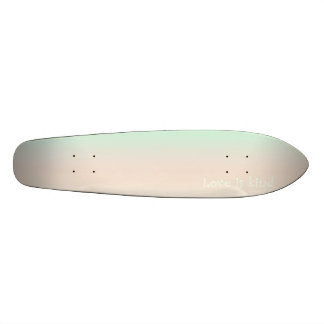 Re-Created Color Field with LOVE by Robert S. Lee Skateboard