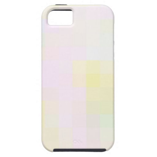 Re-Created Coloured Squares iPhone 5 Cover