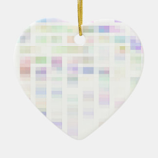 Re-Created Coloured Squares Christmas Tree Ornaments
