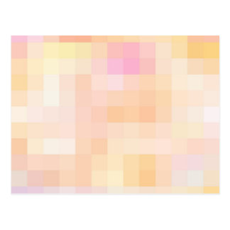 Re-Created Coloured Squares Postcard