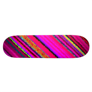 Re-Created Crystal Field Skateboard Deck
