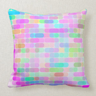 Re-Created Cypher Throw Pillow