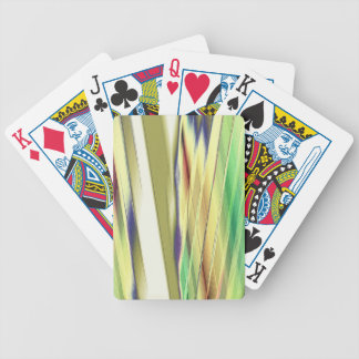 Re-Created Feather by Robert S. Lee Bicycle Playing Cards