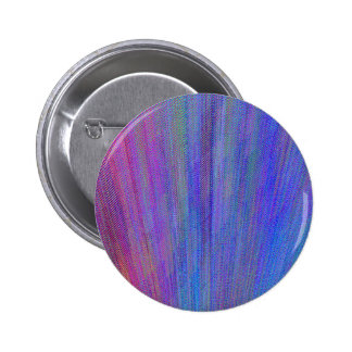 Re-Created Feather by Robert S. Lee 2 Inch Round Button