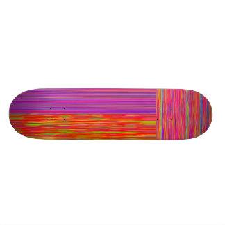 Re-Created Flag Skateboard Deck