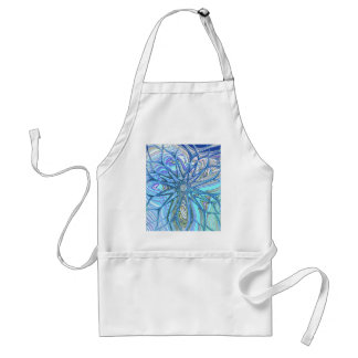 Re-Created Flower by Robert S. Lee Adult Apron