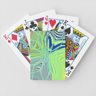 Re-Created Flower by Robert S. Lee Bicycle Playing Cards