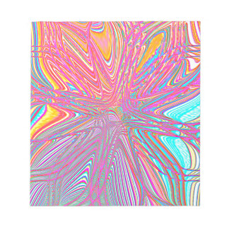 Re-Created Flower by Robert S. Lee Notepad