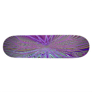 Re-Created Flower by Robert S. Lee Skateboard