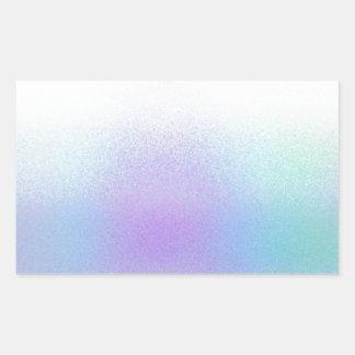 Re-Created Frost Rectangular Sticker